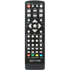Пульт для DVB-T2 приставки D-Color DC-711HD