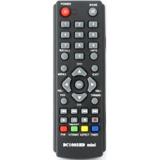 Пульт для DVB-T2 приставки D-Color DC-1002HD mini